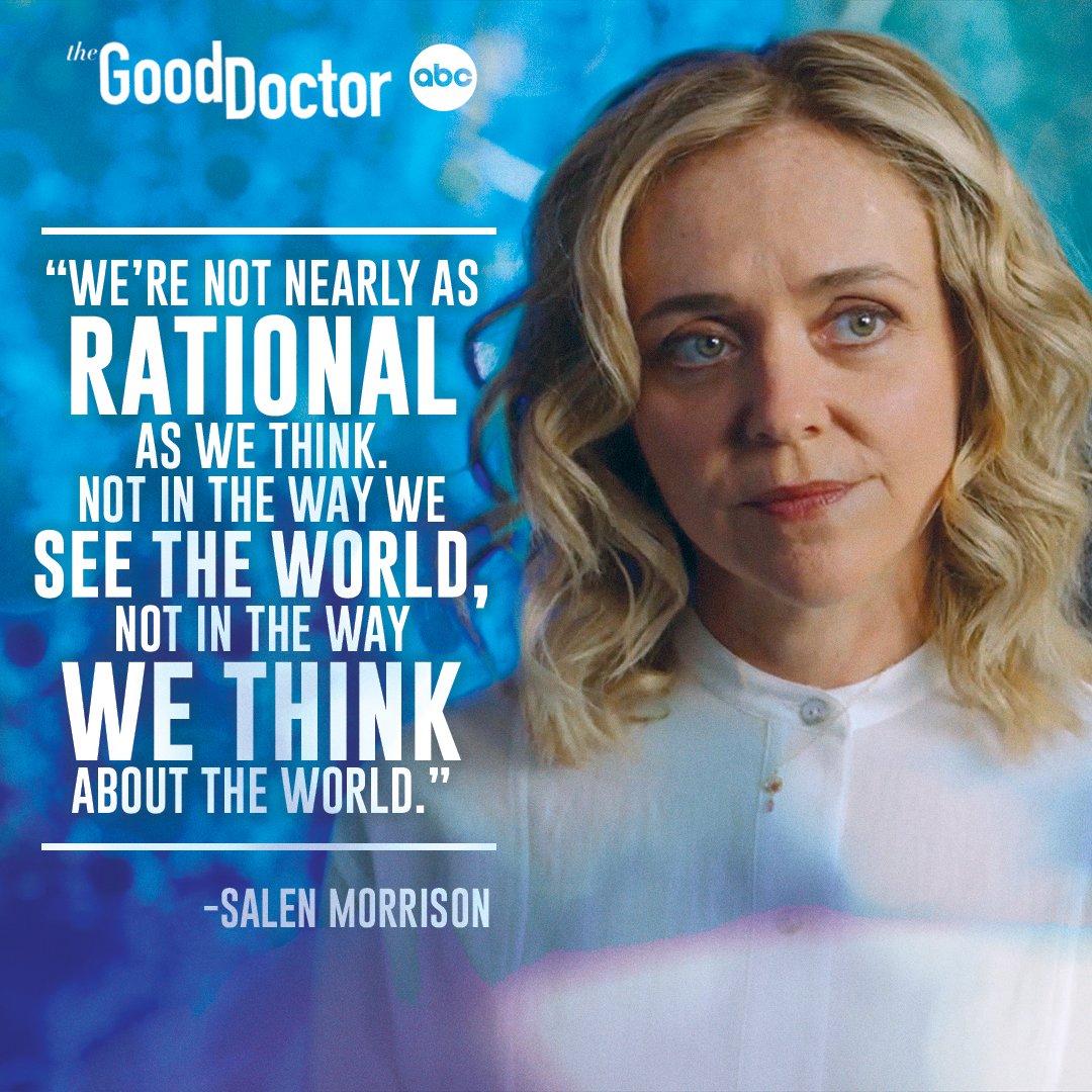 It's all about perspective 💭 Stream on Hulu. #TheGoodDoctor @rachelbayjones
