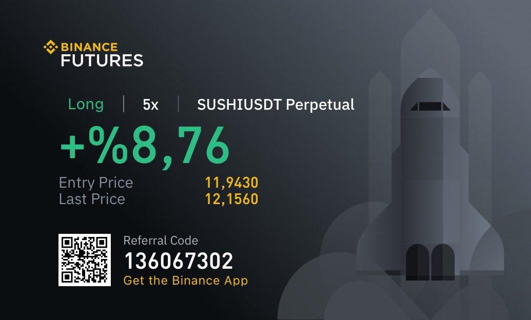 #SUSHI çok şükür 🙏🏻 kâr alarak ilerleyin 😎 #btc #bitcoin #kripto #crypto #Cryptocurrency