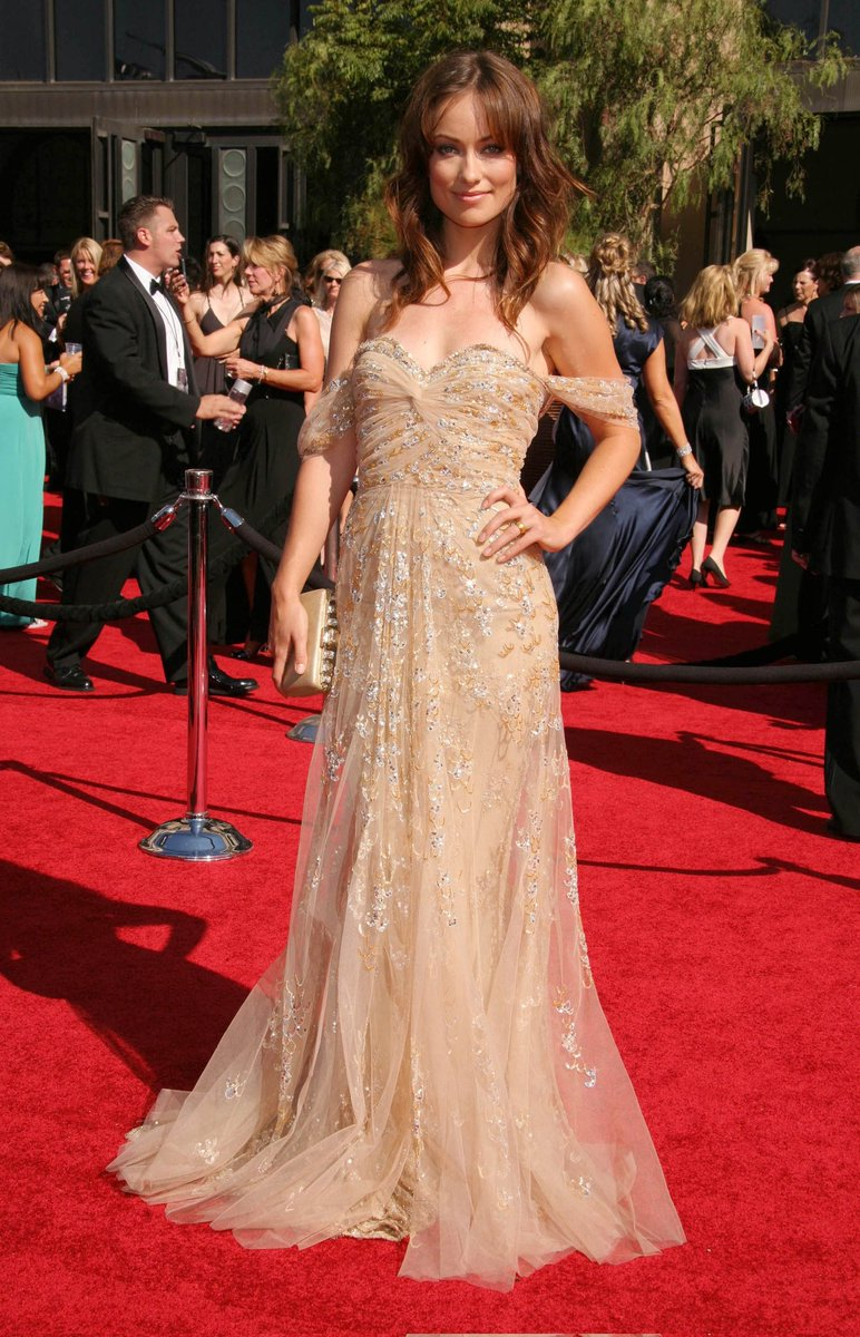 RT @picsowilde: Olivia Wilde at the 59th Primetime Emmy Awards - September 16, 2007. https://t.co/0cCr64HY1V
