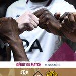 Image for the Tweet beginning: C'EST PARTI À #DIJON !  Match