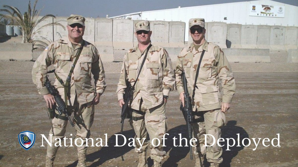 'Thank you to the brave men and women deployed all around the world fighting to keep this country safe and preserving the American way of life. The world is a better place because of your service and sacrifice.' - Commissioner King #gapol
