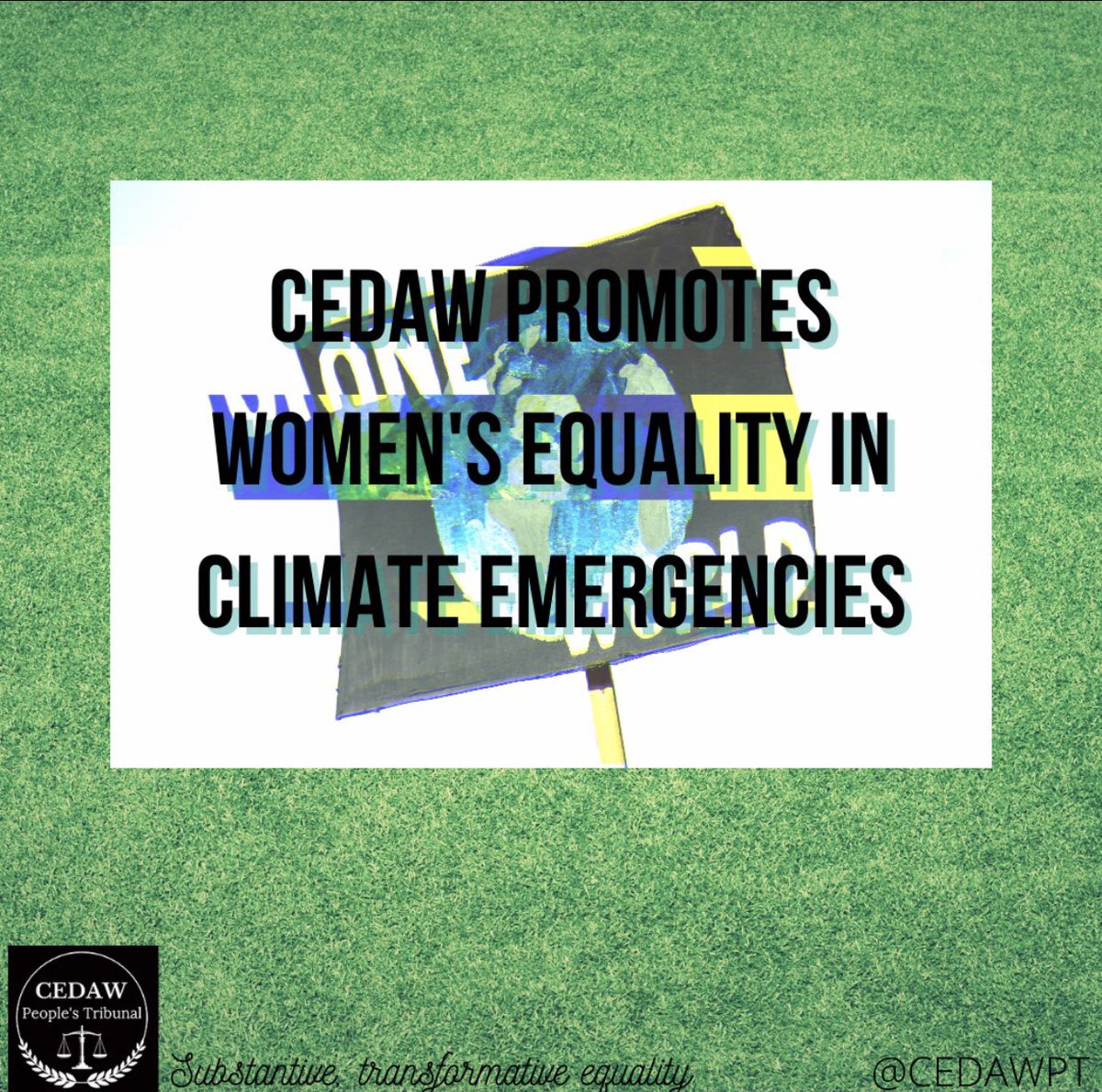 To find out more about #CEDAW implementation from a climate change perspective in the UK, check out our President's report here ➡️ bit.ly/3v5CQfY 🌎 ⚖️ #COP26 #COP26Glasgow #ClimateActionNow #ClimateJustice #ClimateCrisis 2/2