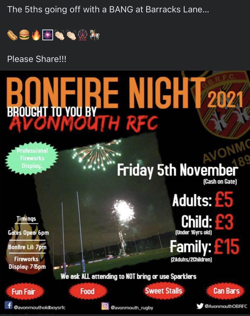 We're back this year!!!   #BonfireNight #fireworks