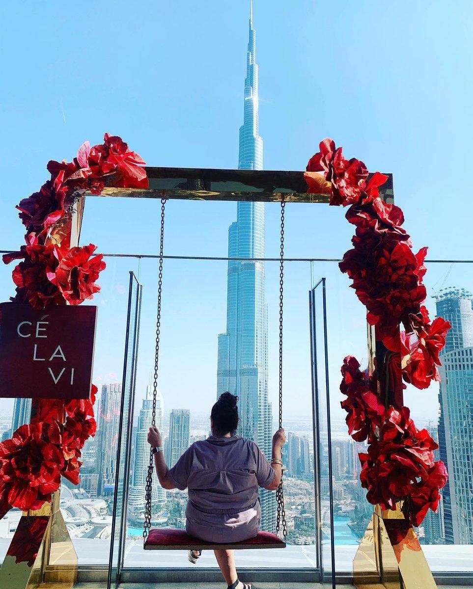 It's all about the views #BurjKhalifa🇦🇪#Dubaiexpo2021 #LatinasinDubai🇲🇽
