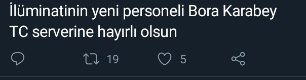 Bora Karabey: Ne?