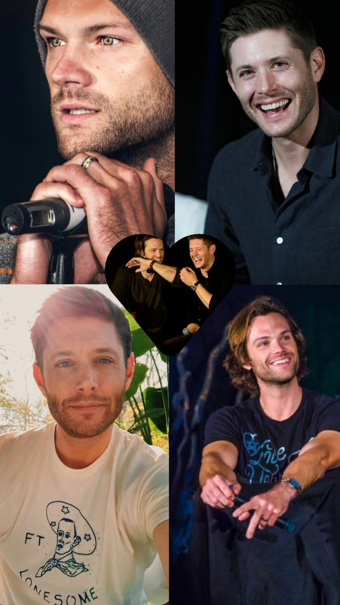 I would always like to see you smile 💞😍  #SPNFamily #JensenAckles #JaredPadalecki #J2sDay #j2us  📷: my collage @JensenAckles @jarpad https://t.co/8sCldbcUCU