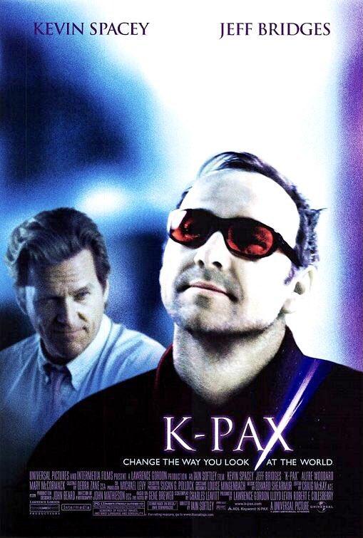 🎬MOVIE HISTORY: 20 years ago today, October 26, 2001, the movie 'K-PAX' opened in theaters! #JeffBridges #MaryMcCormack #AlfreWoodard #DavidPatrickKelly #KevinSpacey #SaulWilliams #PeterGerety #CeliaWeston #AjayNaidu #TracyVilar #KimberlyScott #ConchataFerrell #VincentLaresca