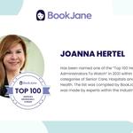 Image for the Tweet beginning: Congratulations to Joanna Hertel, HRIS