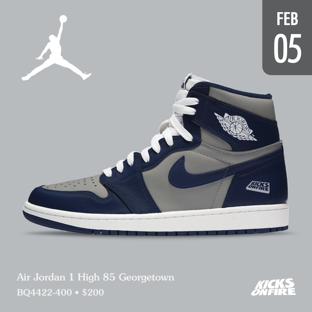RT @kicksonfire: Georgetown 1s are looking 🔥 https://t.co/tsY7o2TdIZ