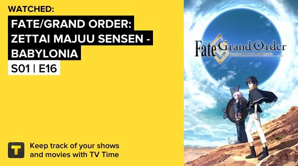 test ツイッターメディア - I've just watched episode S01 | E16 of Fate/Grand Order: Zettai Majuu Sensen - Babylonia! https://t.co/AwGwTpALYg #tvtime https://t.co/fnCME3UXaU