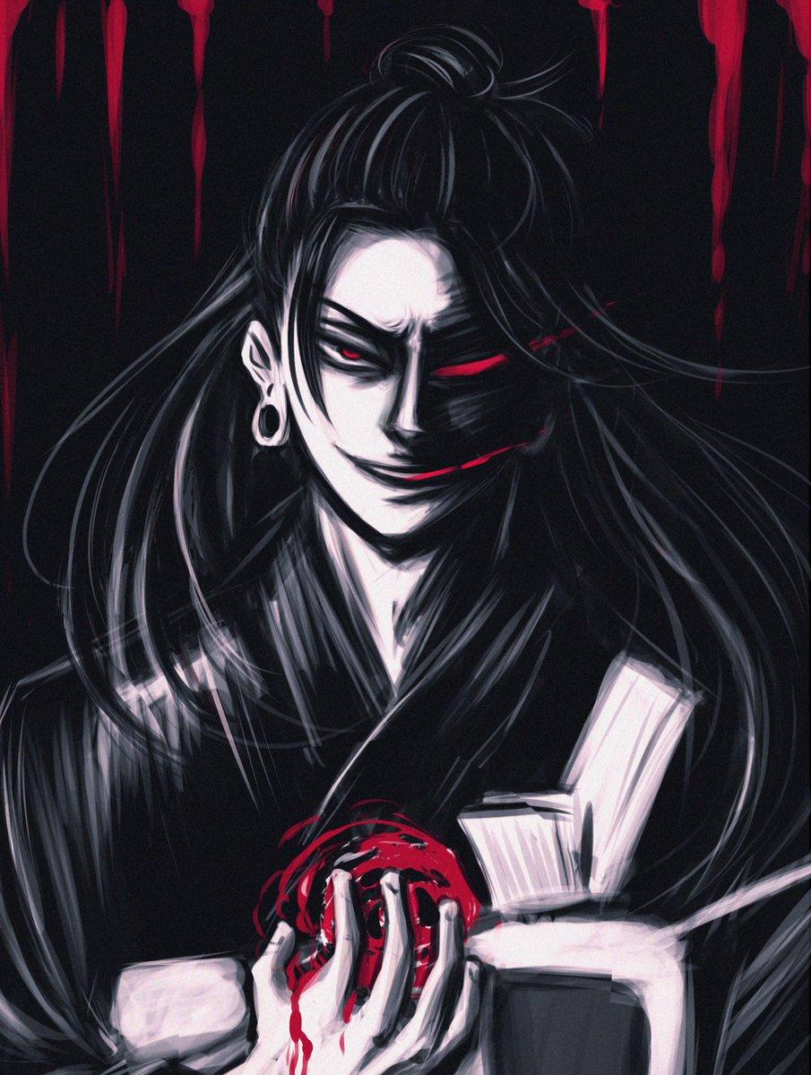 RT @xo_romiiarts: evil man being evil   #JujutsuKaisen #呪術廻戦 #夏油傑 https://t.co/CmiFbtkg5s