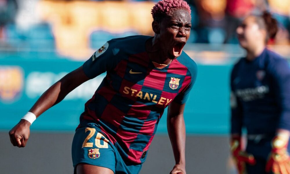 RT @Naija_PR: Nigeria striker, Asisat Oshoala has been rated as Barcelona Femeni's eighth Most Valuable Player https://t.co/34VsuRSpiO