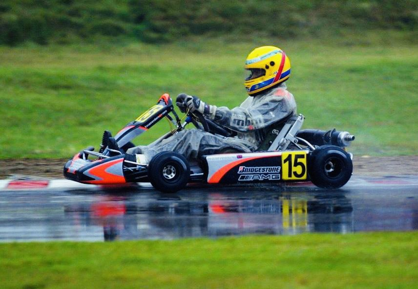 """#OnThisDay 20 years ago Lewis Hamilton (pic), 16, entered a Super-A Karting World Championship race at Kerpen, owned by Michael Schumacher, 32, who also raced in it & said afterwards: """"He's a quality driver; if he keeps this up he'll reach #F1; he has the right racing mentality."""" https://t.co/j5ypeTeTmG"""
