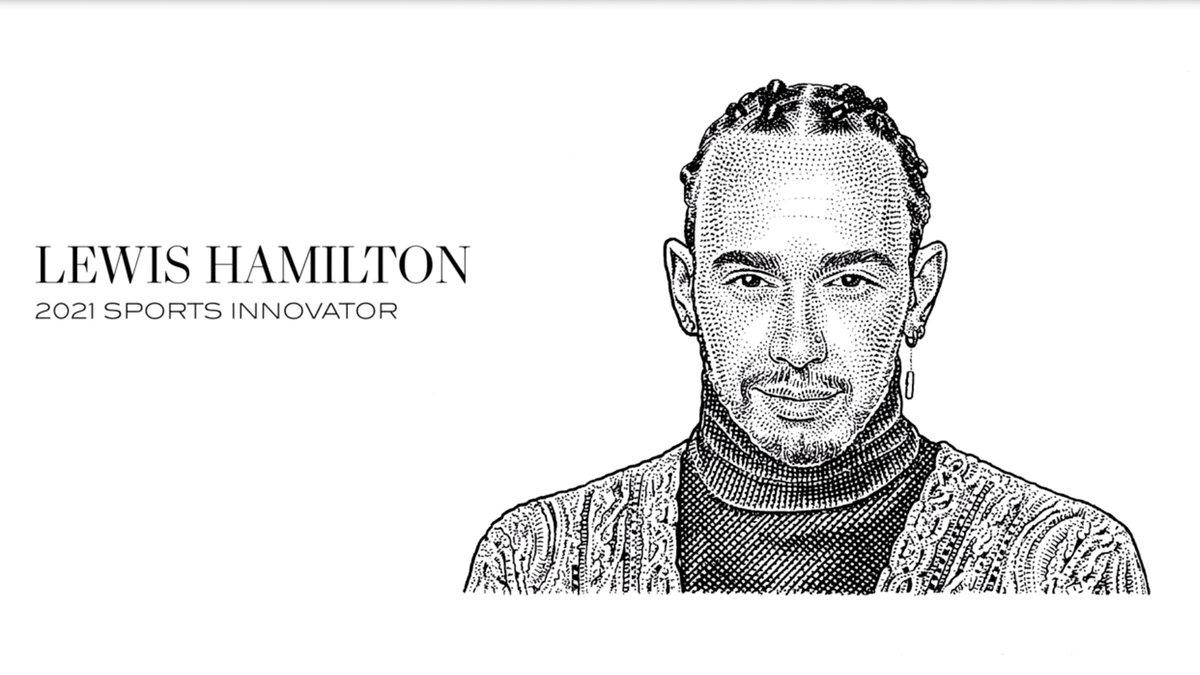 RT @WSJMag: .@LewisHamilton is our 2021 Sports Innovator! https://t.co/258EypHVbU