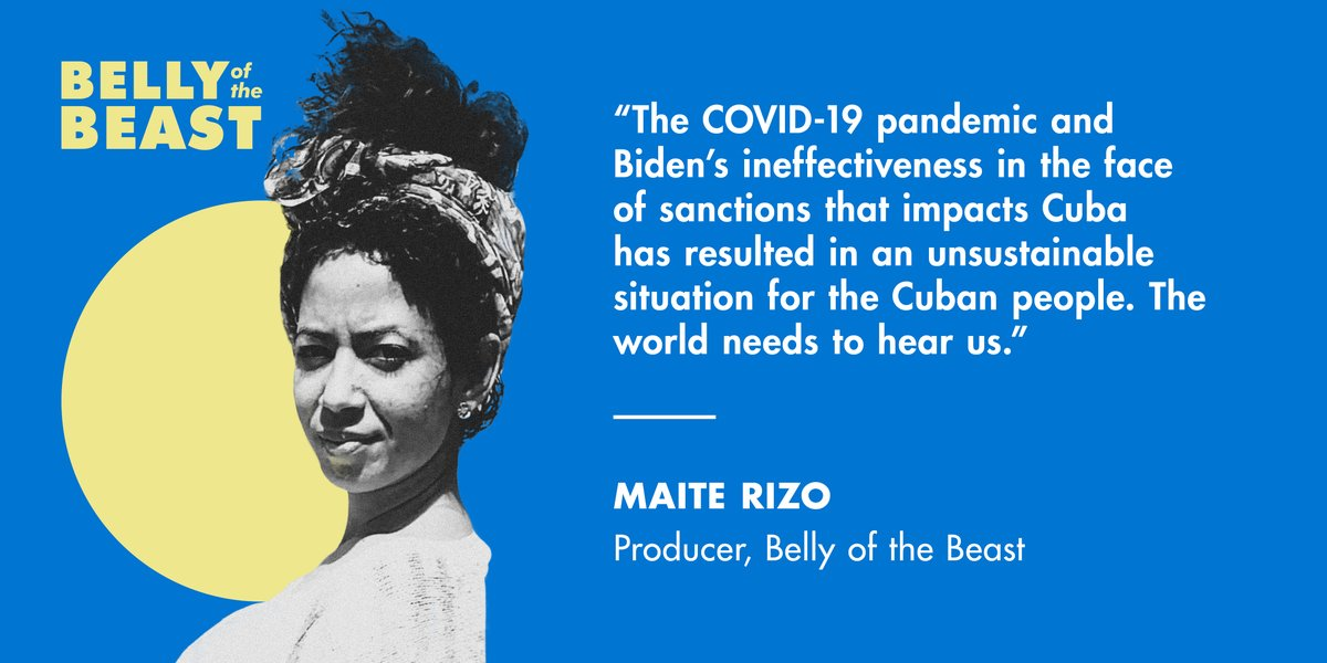 Maite Rizo, co-producer of THE WAR ON CUBA, on why season 2 is of continued necessity- right now.