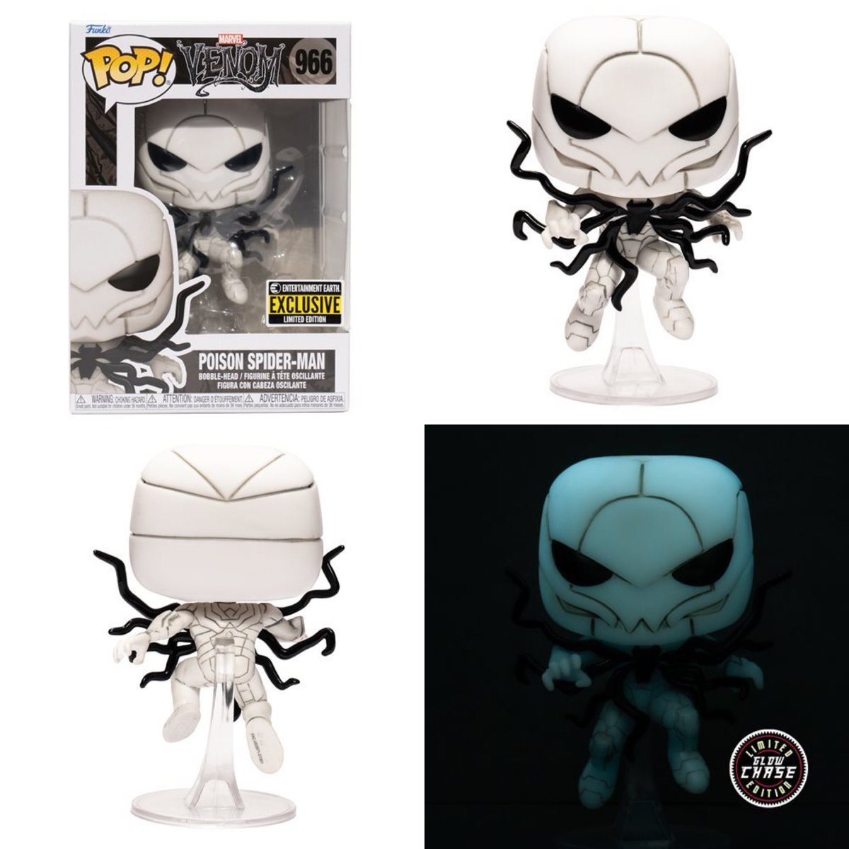 Some more shots of the awesome Poison Spider-Man Funko POP! Linky ~ fnkpp.com/EE #Ad #FPN #FunkoPOPNews #Funko #POP #POPVinyl #FunkoPOP #FunkoSoda #SpiderMan #Marvel