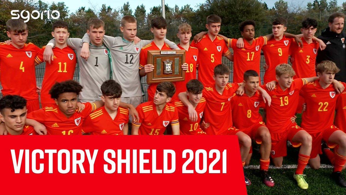 Image for the Tweet beginning: Victory Shield 2021 🏆  Ymgyrch @Cymru