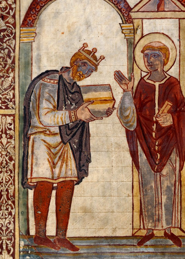 Today in #history: Æthelstan, the first king of all England, dies and is succeeded by his half-brother, Edmund I. (939 CE) #OnThisDay https://t.co/zZmVulyqsi