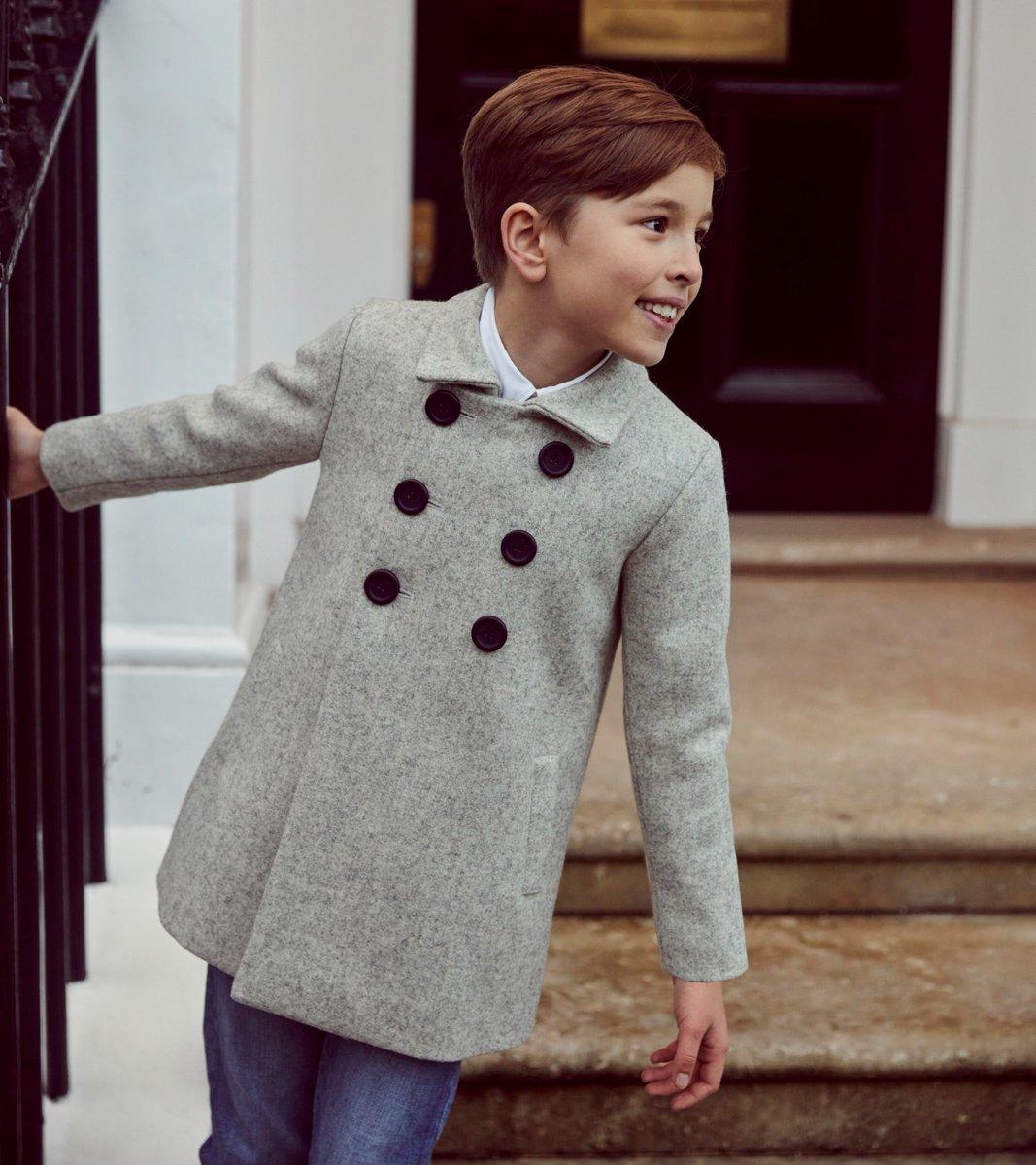 Pimlico Pea Coat from @BritannicalUK  https://t.co/3kSgyr2nBX Ref Number: 1367512 #outerwear #boyscoat #peacoat #woolcoat #greycoat #tailoredcoat #boysclothing #childrensclothing #kidswear #childrenswear #madeinbritain #sustainable #aw21 #britannical #britannicallondon https://t.co/AdGJfa8xZ5