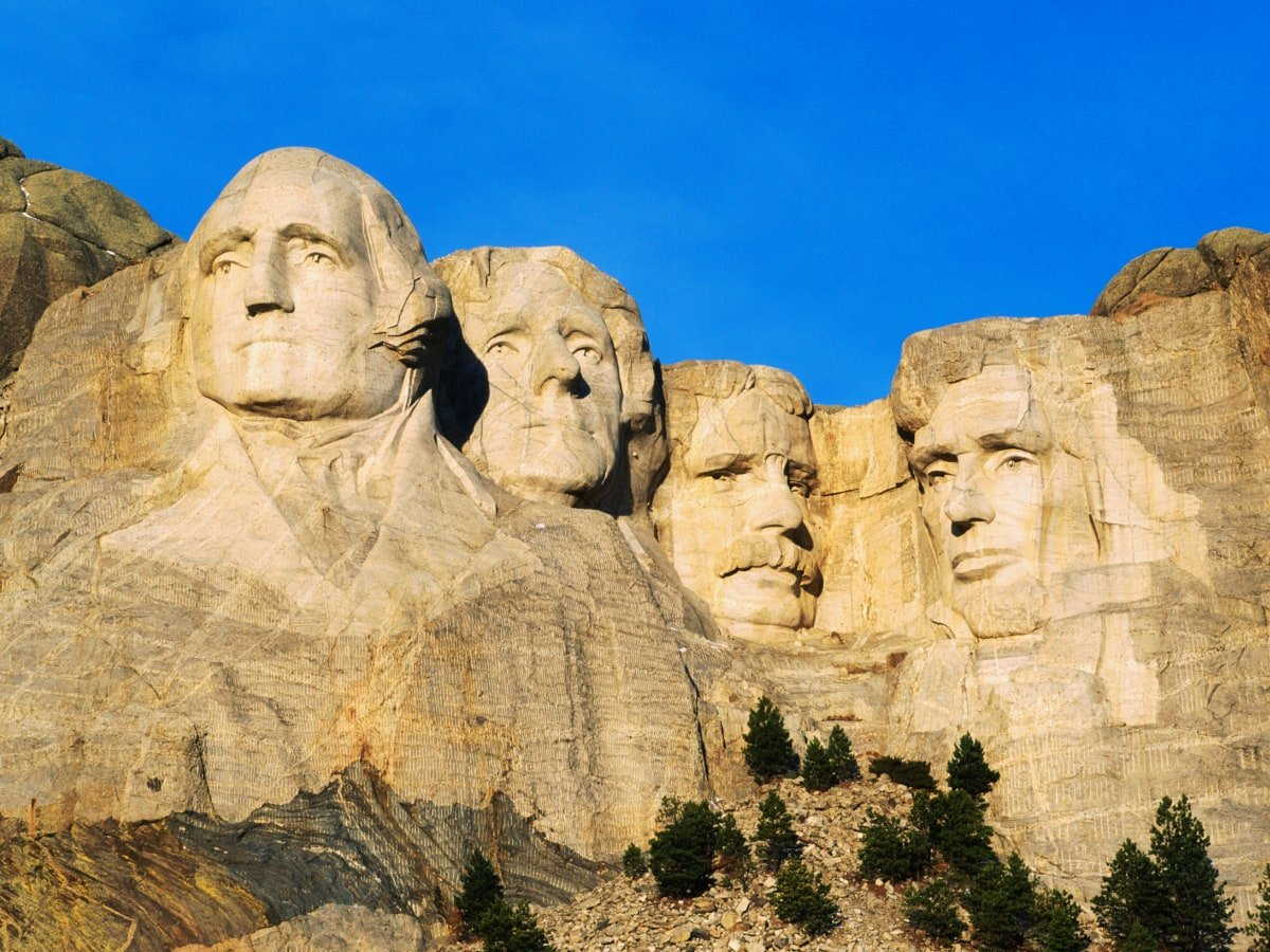 #QuizOfTheDay: He was 26th President of the United States.  His face is depicted on Mount #Rushmore.  He won him the 1906 #Nobel #Peace Prize.  Who is he?  A. George Washington B. Abraham Lincoln C. Theodore Roosevelt D. Thomas Jefferson  https://t.co/1q7jcfKZlU https://t.co/Se6HDRvK2y
