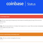 Image for the Tweet beginning: Your coinbase card is no
