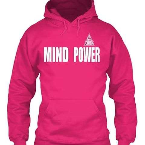 Available in all sizes and colors #MindPower #BreastCancerAwarenessMonth
