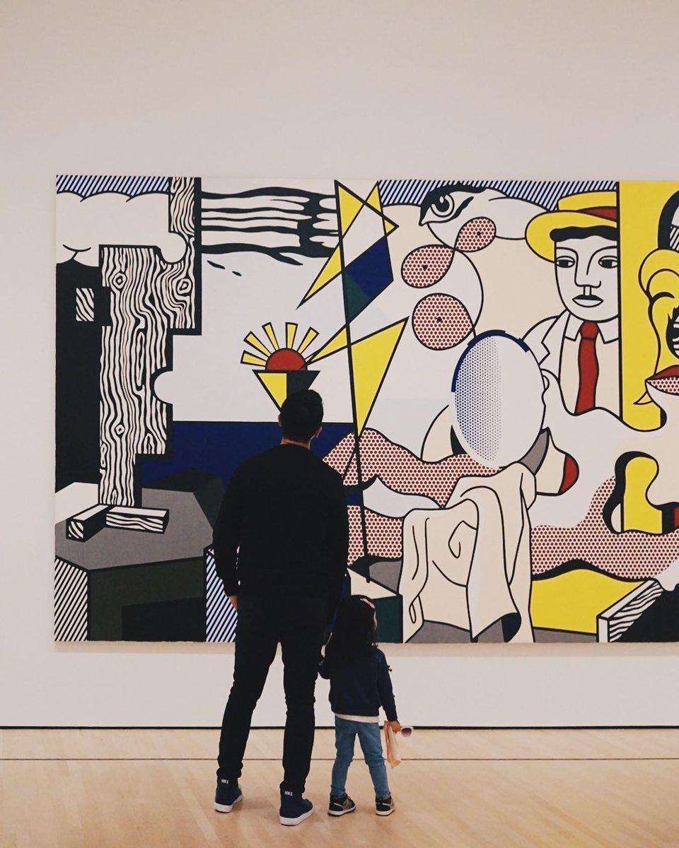 Happy birthday, #RoyLichtenstein! Lichtenstein was born #onthisday in 1923. https://t.co/ILMEG4rDed