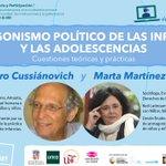 Image for the Tweet beginning: 📢Próximo ☕#infanciaparticipativa En el marco del