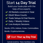 https://t.co/cBbpyvkMZY> Login or Sign Up with 14-day Trial to access updated Charts  #Elliottwave #Trading #Stocks #ETFs