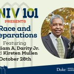 Image for the Tweet beginning: TOINIGHT!  @DukeU's UNIV101 Presents: Race and