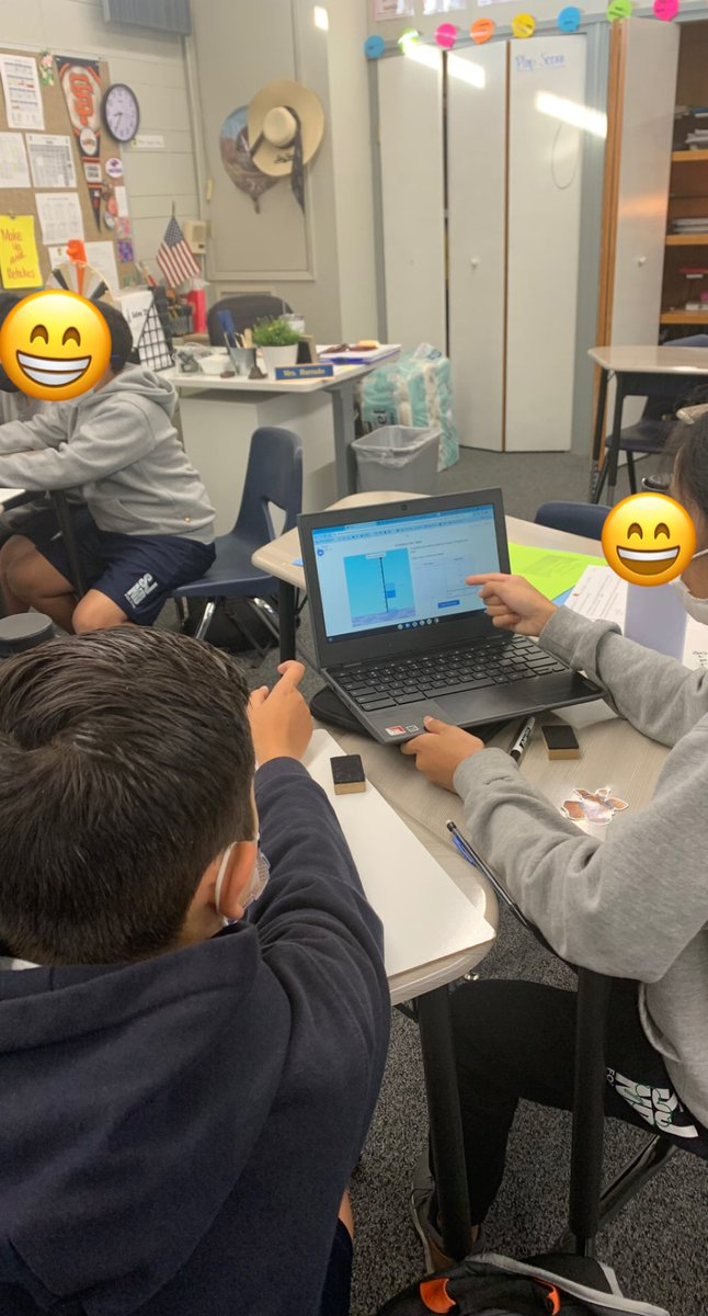 test Twitter Media - One of the best ways to create engagement is to give a @Desmos activity to students in pairs and have them use just one Chromebook. We are working with linear equations so we played Flags. The kids loved it.  #MTBoS #iteachmath https://t.co/WYBEq5OvXT
