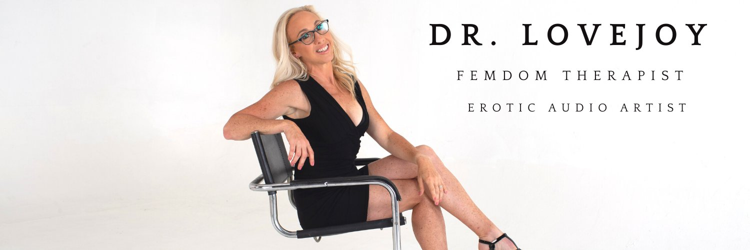 Dr. Lovejoy (@FemdomTherapy) on Twitter banner 2012-12-09 23:13:56