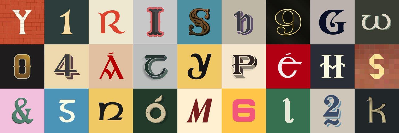Documenting found Irish typography and lettering. instagram.com/irishtype by @jameskeIIy