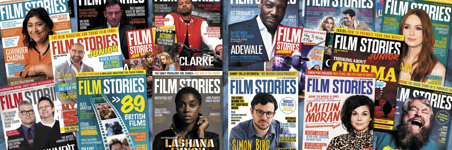 Twitter home of Film Stories & Film Stories Junior print magazines ¦ Film Stories with Simon Brew podcast ¦ Film Stories live events ¦ From @simonbrew.