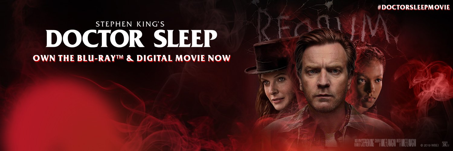 #DoctorSleepMovie has joined the @StephenKing cinematic universe. Own the Director's Cut on Blu-ray and Digital tod… twitter.com/i/web/status/1…
