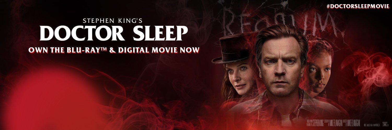#DoctorSleepMovie   Own Stephen King's Doctor Sleep Director's Cut on Blu-ray 2/4 & Digital now.
