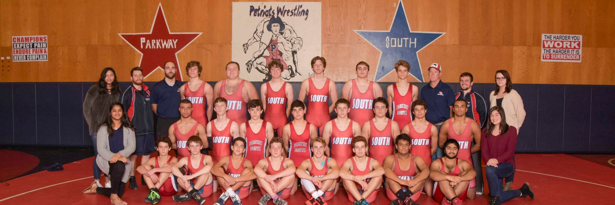 Let's Go!! You're ready, time to punch your ticket to State! We believe in you, Patriots! #PSouthWrestling… https://t.co/YxMnyuZK4z