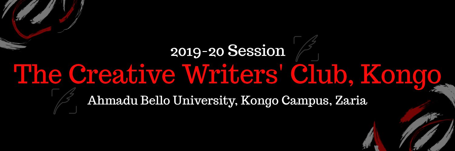 We're a growing literary community within the Kongo Campus of A.B.U. Zaria. Weekly Workshops hold on Sundays by 4PM. Have Questions? 👉 cwckongo74@gmail.com