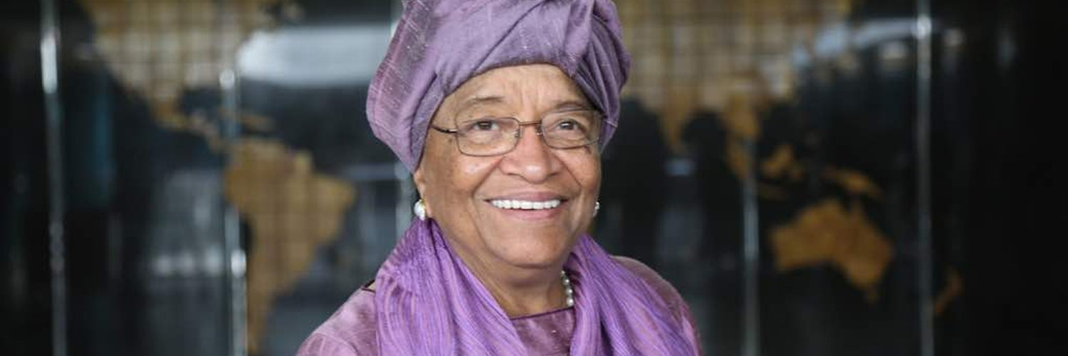 Former President of the Republic of Liberia, advocate for women, Grandmother of 12, local farmer.