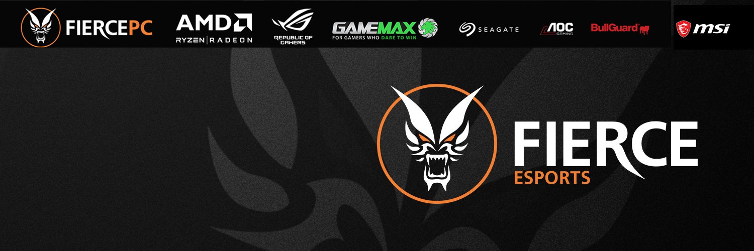 We are a 🇬🇧 based esports organisation currently competing in R6 and Rocket League. Owned by @FiercePCltd. #StayFierce🔥