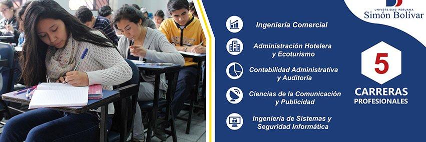 Universidad Peruana Simón Bolivar's official Twitter account