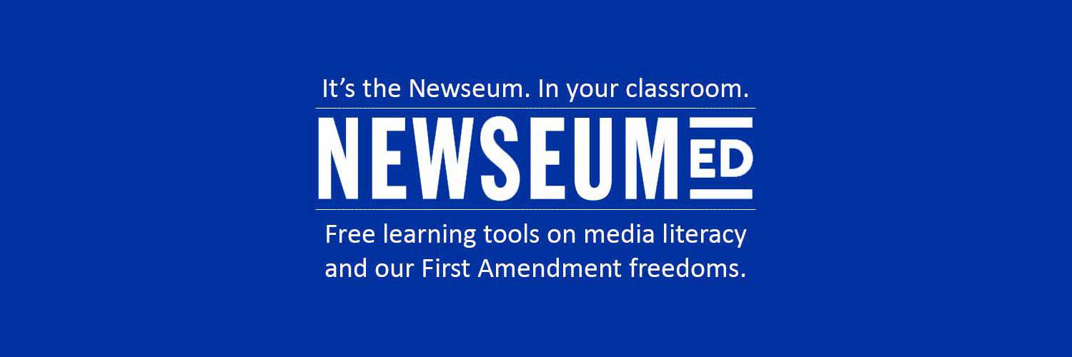 Free resources on media literacy & the First Amendment. Contact: educationprograms@newseum.org