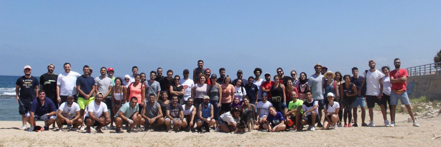 A group of volunteers, saving Lebanon, one beach at a time.