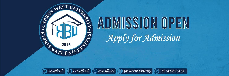 Kibris Bati Üniversitesi's official Twitter account