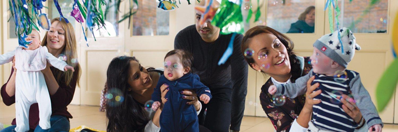Baby Sensory, Award Winning Baby Development Classes for babies from birth.