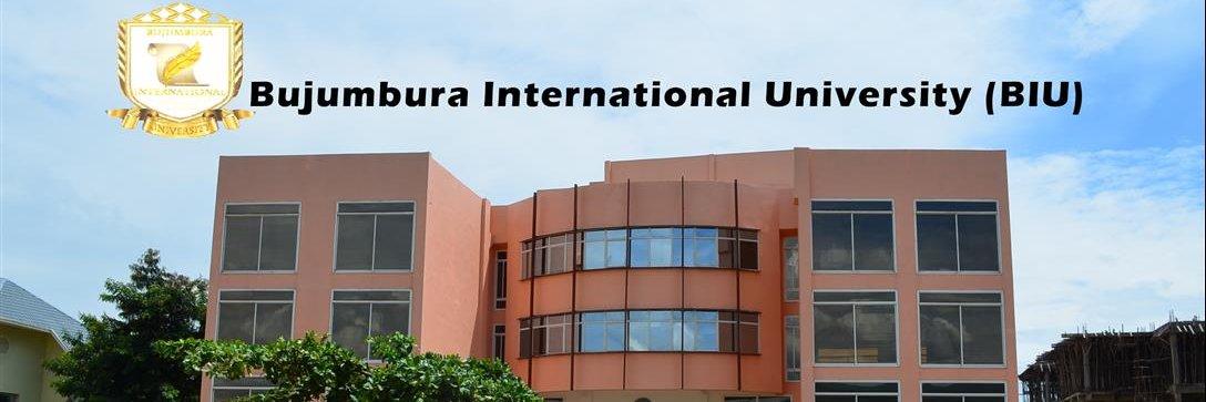 Bujumbura International University's official Twitter account