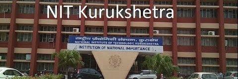 National Institute of Technology, Kurukshetra's official Twitter account