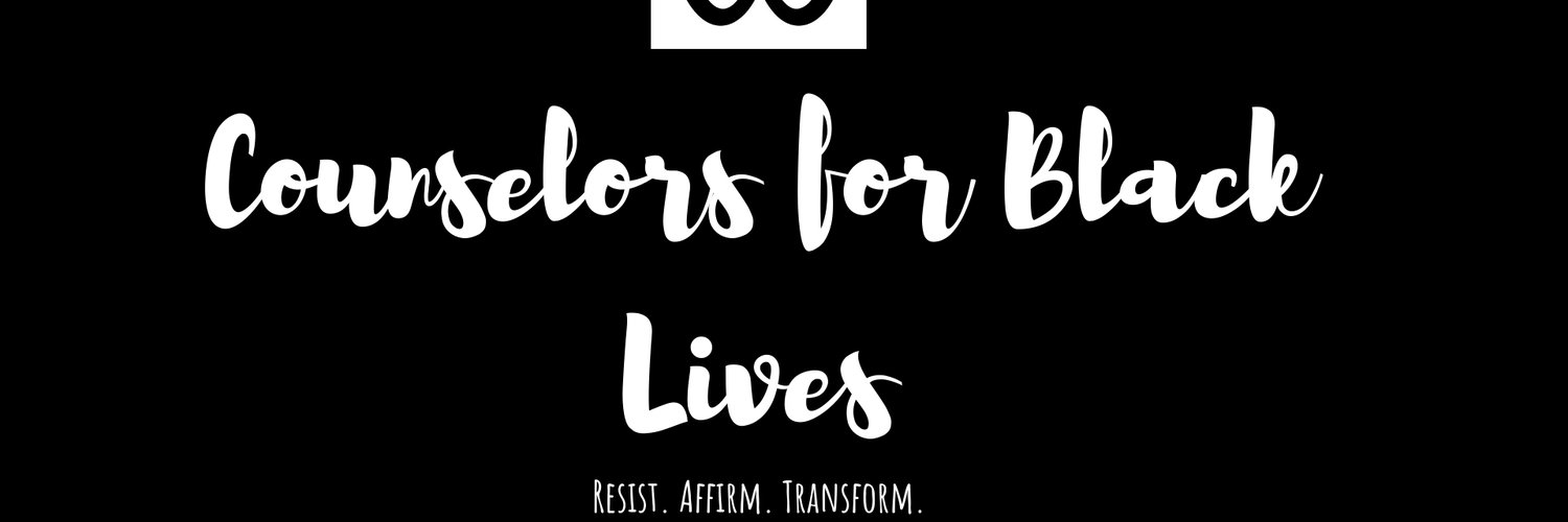 Counselors for Black Lives is a resistance mvt dedicated to affirming Black life through counseling, education, activism, & service. Created by @brilliantblkgrl