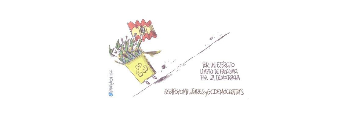 Queremos dar especialmente las gracias a los #HumoristasGráficos q han ilustrado el Manifiesto… https://t.co/Q2OMxqmfUN