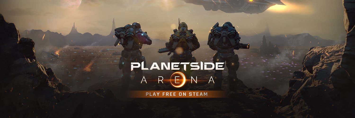 Dive into PlanetSide Arena and battle online in this massive multiplayer sci-fi arena shooter. Choose your class, fuel your jetpack, and drop into the fray!